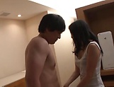 Spicy love Mizuki Miri gets her pretty face filled with cum