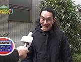 Japanese milf is a real handjob artist