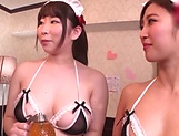 Japanese maids are hired to get fucked picture 12