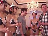 Japanese maids are hired to get fucked picture 15