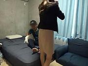 Kishida Ayumi excels in her dick riding skills