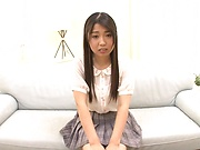 Shiraito rin swallows jizz after providing blowjob