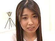 Shiraito rin swallows jizz after providing blowjob