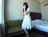 Cute teen Imai Imai enjoys sucking a pulsating ramrod picture 13