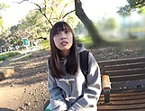 Cute teen Imai Imai enjoys sucking a pulsating ramrod