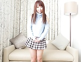 Spicy Aise Miki toys pussy in solo action picture 11
