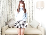 Spicy Aise Miki toys pussy in solo action picture 14