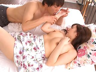 Aizawa Maria pussy fucked after a great foreplay