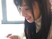 Gorgeous Eikawa Noa enjoys soapy naughty bath