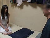 Ootori Kaname enjoys her shaved pussy stretched picture 14