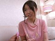 Shiraito Rin gets pussy finger fucked by horny boyfriend