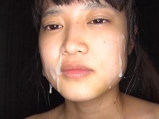 Hatsune Momoka excels in her cock sucking skills