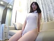 Alluring Oohara Suzu kinky masturbation action