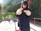Oohara Suzu quenhes her dude's sexual thirst picture 12