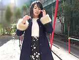 Oohara Suzu quenhes her dude's sexual thirst picture 13