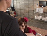 Kaede Fuyutsuki, shows her dick pleasuring skills picture 11