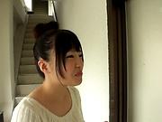Miyazawa Yukari flaunts her perky tiny tits