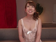 Hatano Yui, tuned on with erotic kissing