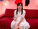 Miyazawa Yukari takes a messy cum in mouth picture 13
