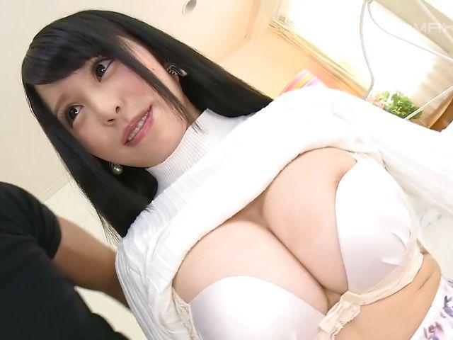 Hanaoka Kana big tits lady goes wild on cock