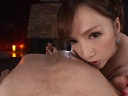 Hot milf Sumire Mika enjoys her tits fucked