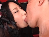 Cum craving honey enjoys intense pussy pounding