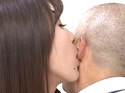 Mashiro Kanna ,gets naughty with her boss