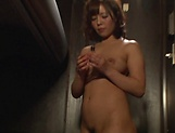 Hot Asian milf gets tits fucked and hardcore doggy style