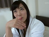 Seductive mistress Yume kana in kinky solo girl session picture 12