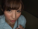 Stud gets his hard lucky pole pleasured by hot Suzumira Airi