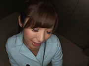 Pretty horny Milf Mashiro Kana in kinky blowjob fun