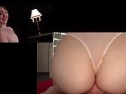 Suzuhara Emiri, pleasures a dude in a cute POV scene