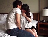 Cute Asian teen beauty loves cock riding fun picture 11