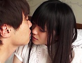 Cute Asian teen beauty loves cock riding fun picture 4