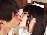 Cute Asian teen beauty loves cock riding fun picture 9