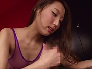 Alluring Asian hottie Matsushima Aoi pleasures a hard pole