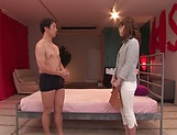 Hatano Yui gets her gaping wet muff filled with cum picture 11