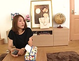 Kawakami Nanami takes a worthy cum in mouth