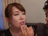 kinky Asian babe Hatano Yui in hardcore pounding picture 14