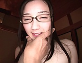 Gorgeous milf Suzuhara Emiri enjoying a kinky session picture 9