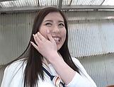 Oohinata Haruka pleasured by a sloppy fingering picture 13
