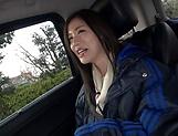 Oohinata Haruka pleasured by a sloppy fingering