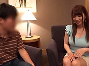 Kinky love Sonoda Mion gets her melons pleasured