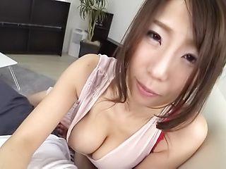Shinoda Ayumi featured in a cute pov scene