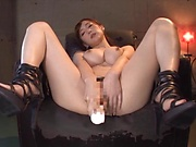 Busty Sumire Mika gets the dick in every possible way