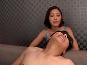 Sexy milf crazy XXX adult play along horny man