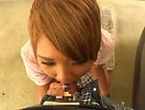 Alluring Kawasumi Hikaru in raunchy blowjob scene