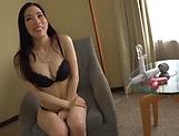 Ninomiya Waka peasured by her sex toys picture 11