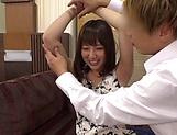 Busty Takeuchi Nami gets fucked hard and creamed