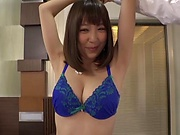 Busty Takeuchi Nami gets fucked hard and creamed